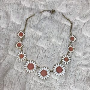 Charming Charlie Daisy Statement Necklace